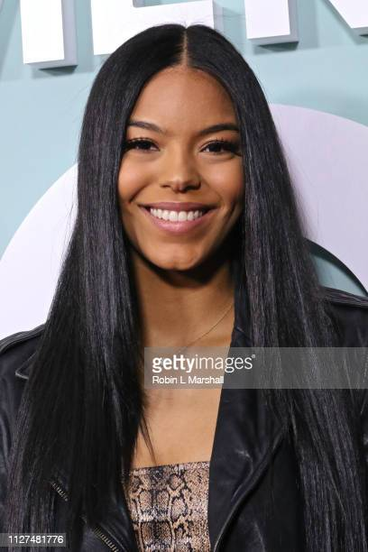 Christina Cornelius attends BET's 'American Soul' Red Carpet at Wolf Theatre on February 04 2019 in North Hollywood California