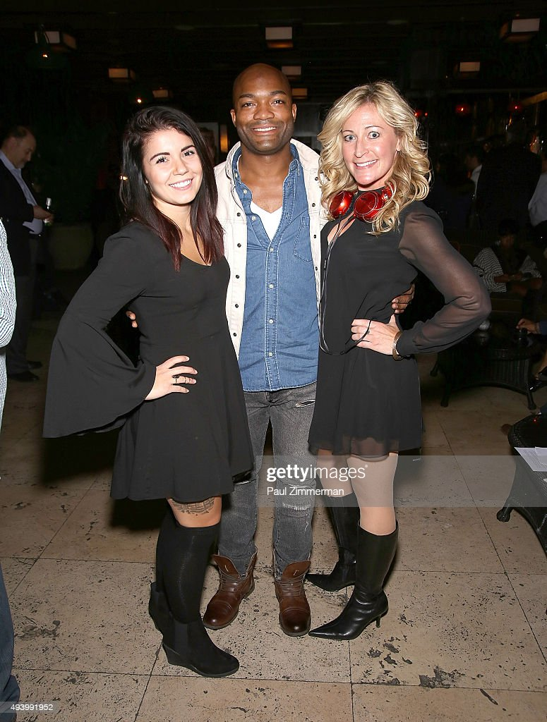 DJ Christina, Craig Allen and DJ Michelle Lee attends the Meredith O'Connor Album Release Party benefiting The Carol Galvin Foundation at The Park on October 23, 2015 in New York City.