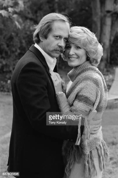 Christina Crawford at Home with Her Husband Producer David Koontz