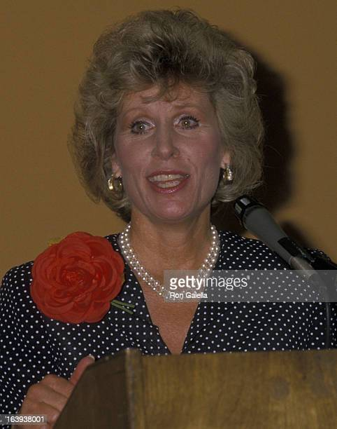 Christina Crawford attends American Booksellers Association Convention on May 29 1988 at the Anaheim Convention Center in Anaheim California
