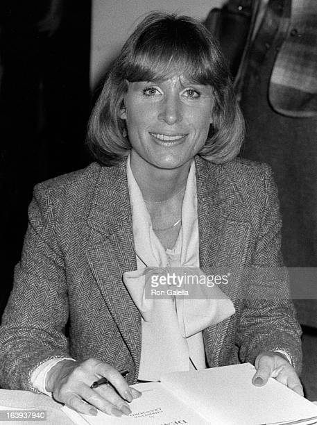 Christina Crawford attends the book party for Christina Crawford Mommy Dearest on November 9 1979 Caldor in Yonkers New York