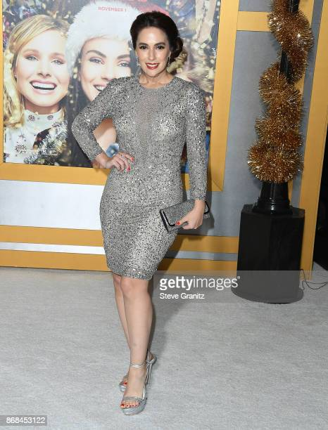 Christina DeRosa arrives at the Premiere Of STX Entertainment's 'A Bad Moms Christmas' at Regency Village Theatre on October 30 2017 in Westwood...