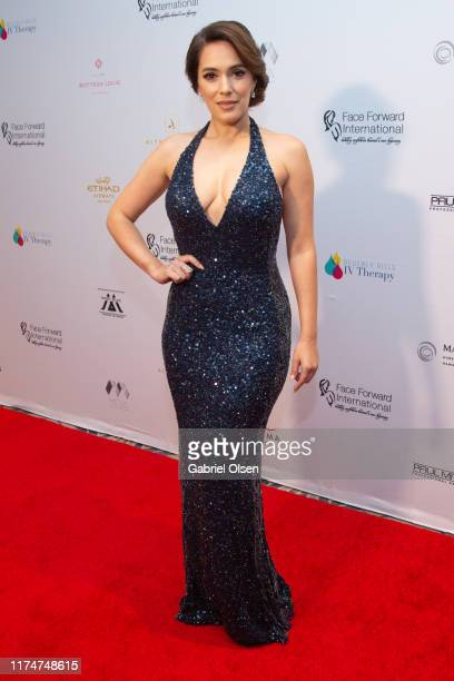 """Christina DeRosa arrives for the Face Forward International 10th Annual Gala """"Highlands To The Hills"""" on September 14, 2019 in Los Angeles,..."""
