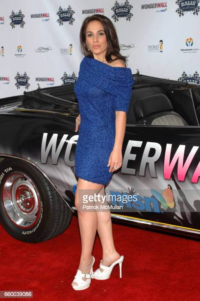 Christina DeRosa attends Rally for Kids with Cancer Presented by Wonderwall from MSN at The Hollywood Roosevelt Hotel on May 1, 2009 in Hollywood,...