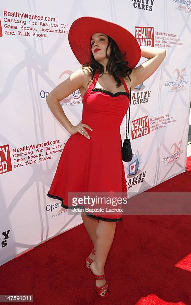 Christina DeRosa attends Reality Care's Reality All-Stars Charity Event at Joseph's on June 30, 2007 in Los Angeles, California.
