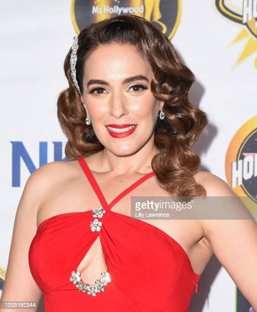 Christina Derosa attends the ART 4 PEACE AWARDS on February 09, 2020 in Beverly Hills, California.