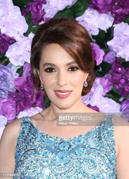 Christina DeRosa attends The Griot Gala Oscars After Party 2019 at The District by Hannah An on February 24 2019 in Los Angeles California