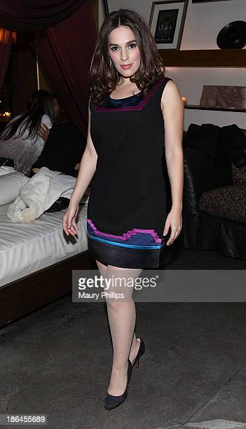 Christina DeRosa attends the Launch Party for Fooducation from The Spice Princess hosted by Christina DeRosa at The GRAMMY Museum on October 30, 2013...
