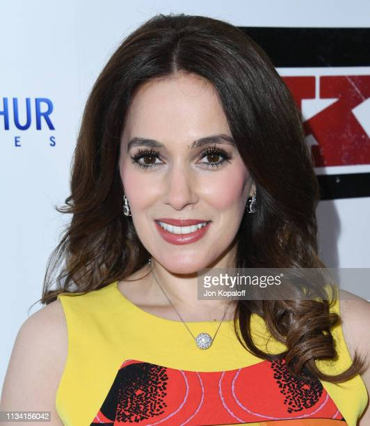 Christina DeRosa attends the premiere of Lionsgate's The Kid at ArcLight Hollywood on March 06 2019 in Hollywood California