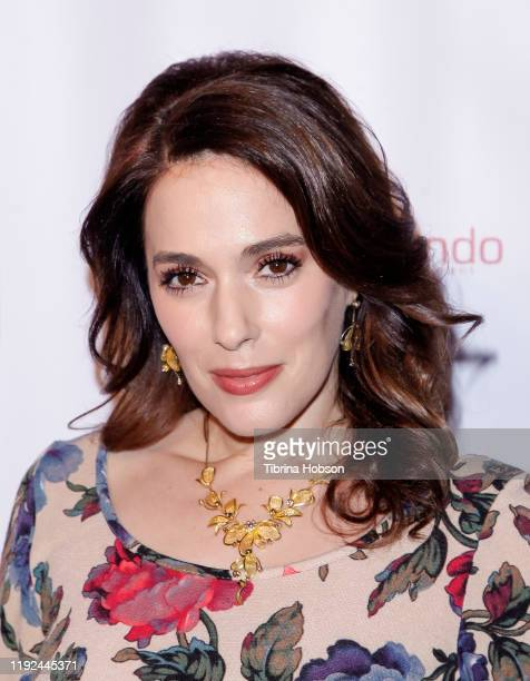 Christina DeRosa attends the Salvation Army's presentation of the 2019 celebrity Red Kettle Kickoff, honoring Danny Trejo on December 06, 2019 at The...