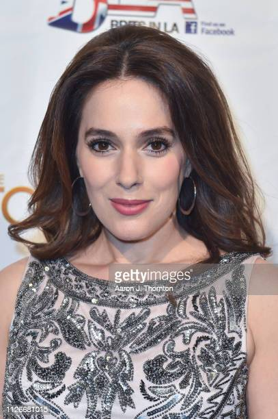 Christina DeRosa attends the Toscars at The Renberg Theatre on February 21 2019 in Los Angeles California