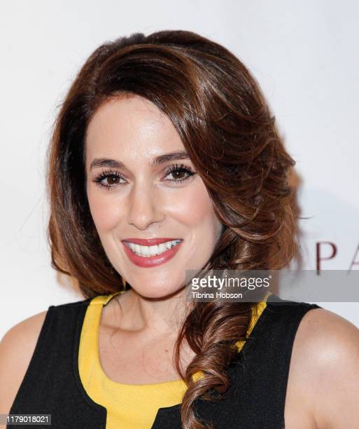 Christina DeRosa attends the world premiere of Brenda Jackson's 'A Brother's Honor' at Raleigh Studios on October 03, 2019 in Los Angeles, California.