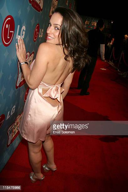 Christina DeRosa during LG Mobile TV Party at Stage 14 Paramount Studios in Hollywood CA United States