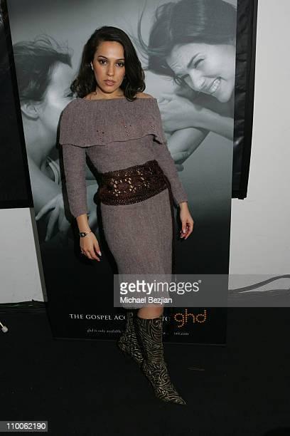 Christina DeRosa during Mercedes-Benz Fall 2007 L.A. Fashion Week at Smashbox Studios - Literature Noir at Smashbox Studios in Culver City,...