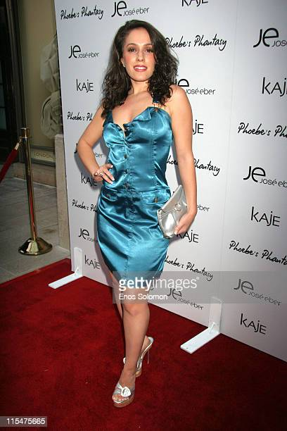 Christina Derosa during Phoebe Price Launches Her New Fragrance Phoebe's Phantasy Presented By LotionGlow at Kaje Boutique in Los Angeles CA United...