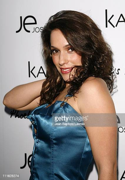 Christina DeRosa during Phoebe Price Launches Phoebe's Phantasy by Lotion Glow at Kaje Store in Beverly Hills California United States