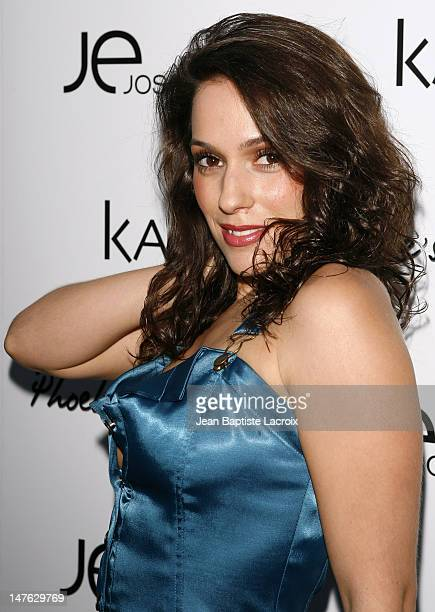 """Christina DeRosa during Phoebe Price Launches """"Phoebe's Phantasy"""" by Lotion Glow at Kaje Store in Beverly Hills, California, United States."""