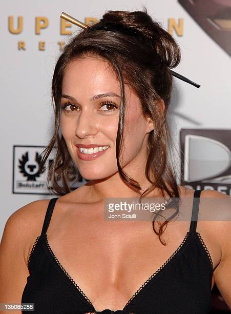 """Christina DeRosa during """"Superman Returns"""" World Premiere Sponsored By Belstaff at Mann Village and Bruin Theaters in Westwood, California, United..."""