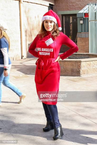 Christina DeRosa is seen on December 21 2018 in Los Angeles California