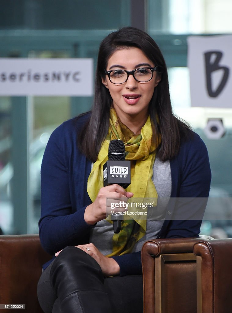 Christina Diaz visits Build Studio to discuss the Fueled By Failure Summit with SmartGirls on November 14, 2017 in New York City.