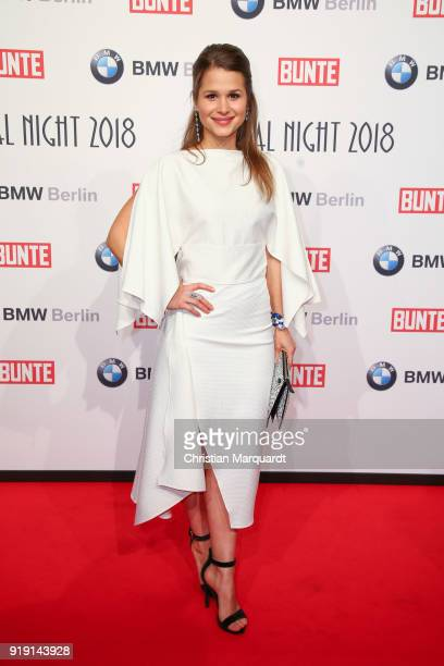 Christina Dorego attends the BUNTE BMW Festival Night on the occasion of the 68th Berlinale International Film Festival Berlin at Restaurant...
