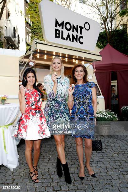Christina Dubec Lena Gercke and Alexandra von Rehlingen attend the Montblanc spring party on May 3 2017 in Munich Germany