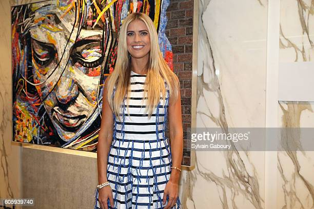 Christina El Moussa attends Tarek and Christina, TV's Favorite House Flippers, Featured at TREND/Stone Source Event in New York on September 15, 2016...