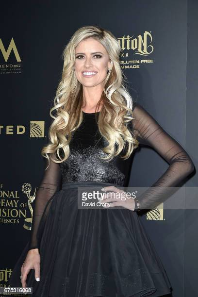 Christina El Moussa attends the 44th Annual Daytime Emmy Awards Press Room at Pasadena Civic Auditorium on April 30 2017 in Pasadena California