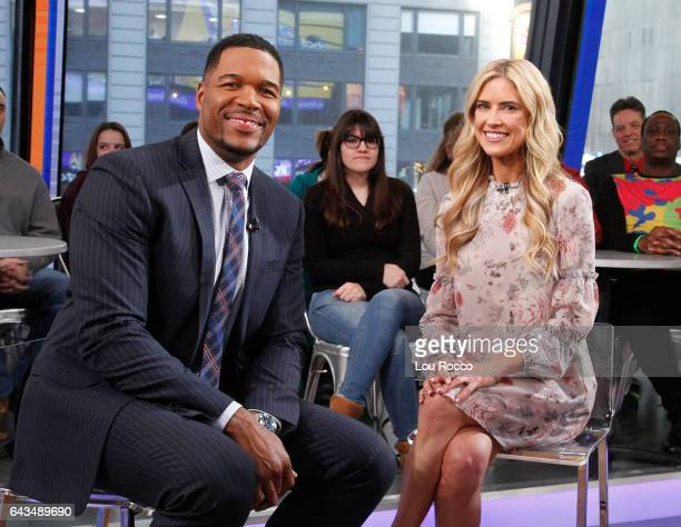 "Christina El Moussa is a guest on ""Good Morning America,"" Tuesday, February 21, airing on the Walt Disney Television via Getty Images Television..."