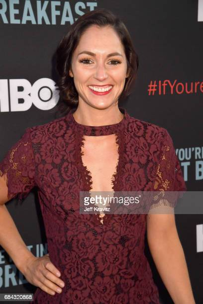 Christina Elizabeth Smith at the LA Premiere of If You're Not In The Obit Eat Breakfast from HBO Documentaries on May 17 2017 in Beverly Hills...