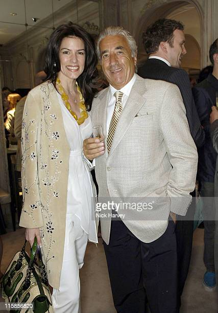Christina Estrada and David Morris during David Morris Shop ReOpening Hosted by Jeremy and Erin Morris June 14 2006 at London in London Great Britain