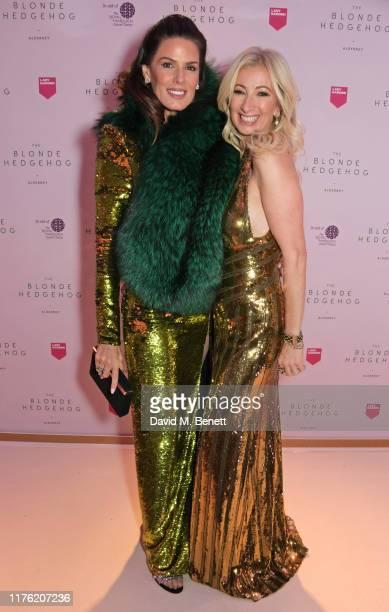 Christina Estrada and Jenny Halpern Prince attend the Lady Garden Foundation Gala 2019 at Claridge's Hotel on October 16 2019 in London England