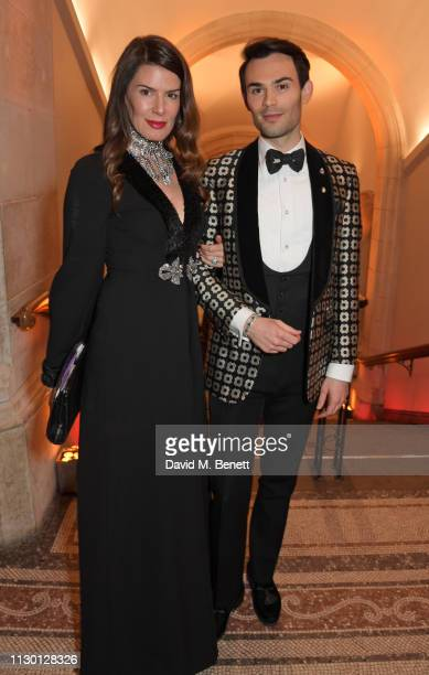 Christina Estrada and MarkFrancis Vandelli attend The Portrait Gala 2019 hosted by Dr Nicholas Cullinan and Edward Enninful to raise funds for the...