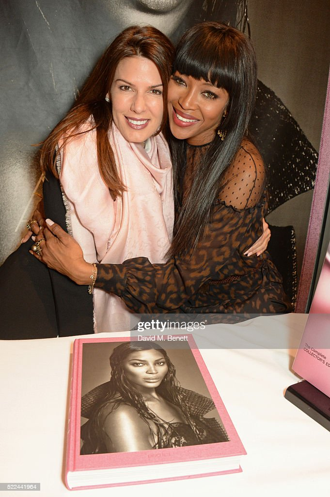 Naomi Campbell Launches Her New Taschen Book 'Naomi' At Taschen Store London