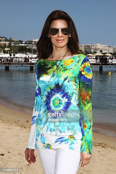 Christina Estrada attends a Film Withouth Borders event during 64th Annual Cannes Film Festival at on May 18, 2011 in Cannes, France.