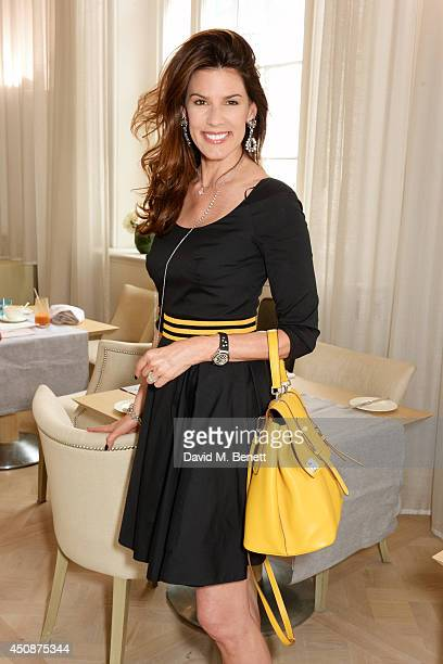 Christina Estrada attends a summer sale at Grace Belgravia in aid of Silent No More the campaign raising money for the Gynaecological Cancer Fund on...