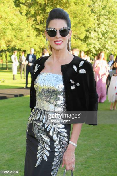 Christina Estrada attends the Argento Ball for the Elton John AIDS Foundation in association with BVLGARI Bob and Tamar Manoukian on June 27 2018 in...