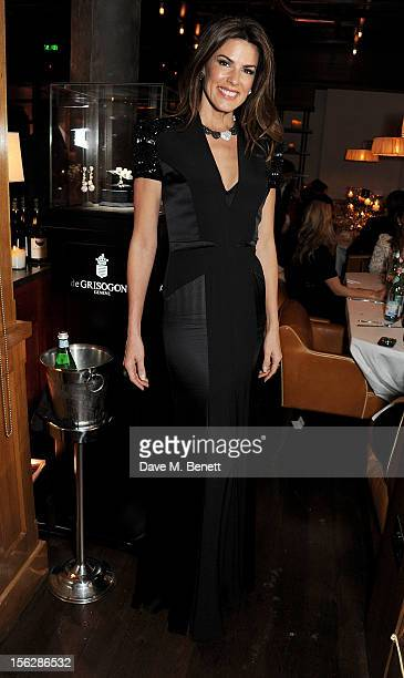 Christina Estrada attends the de Grisogono private dinner at 17 Berkeley St on November 12 2012 in London England