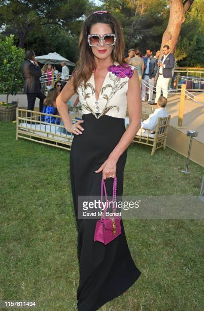 Christina Estrada attends the first Midsummer Party hosted by Elton John and David Furnish to raise funds for the Elton John Aids Foundation on July...