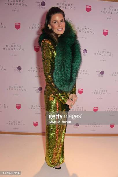 Christina Estrada attends the Lady Garden Foundation Gala 2019 at Claridge's Hotel on October 16 2019 in London England