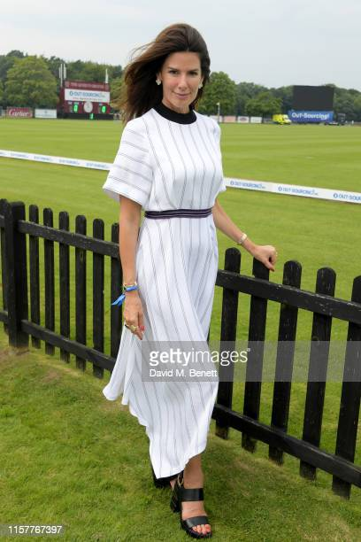 Christina Estrada attends the OUTSOURCING Inc Royal Windsor Cup Final on June 23 2019 in Windsor England