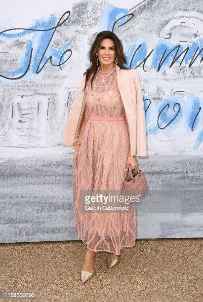 Christina Estrada attends The Summer Party 2019 Presented By Serpentine Galleries And Chanel at The Serpentine Gallery on June 25 2019 in London...