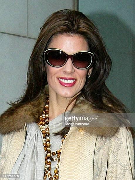 Christina Estrada during De Grisogono Launch Party November 30 2006 at Nobu in London Great Britain