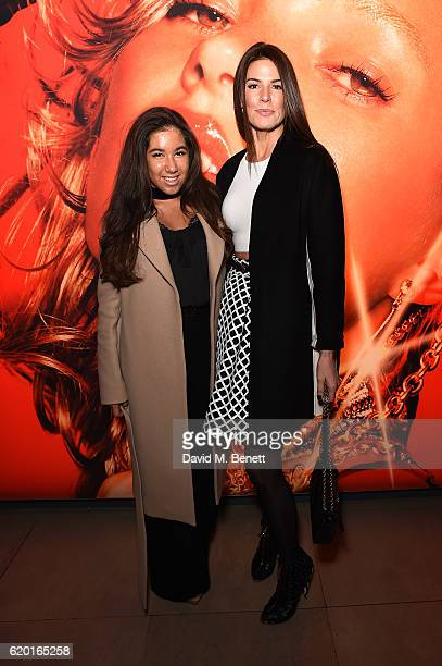 Christina Estrada with her daughter attends the opening party of Hair by Sam McKnight a major new exhibition celebrating the 40year career of the...