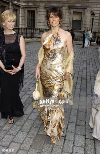 Christina Estrada-Juffali attends the Around The World party at The Royal Academy on June 21, 2004 in London. David Tang hosts the gala to help raise...