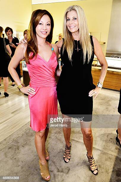 Christina Ferguson and Daryl Ralson attend David Yurman with RIVIERA host an instore event to celebrate the 'Enduring Style' fall campaign on...