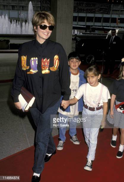 Christina Ferrare And Children during 'Home Alone 2 Lost in New York' Premiere Hosted by United Artist Theatres at Century City in Century City CA...