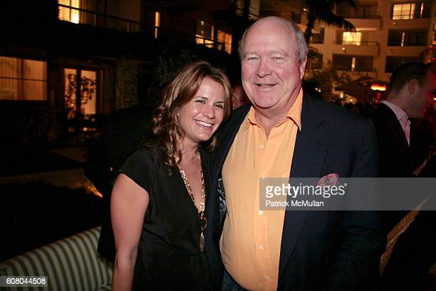 Christina Floyd and Jamie Niven attend HERMES Invites You to Discover Contemporary Video in Asia at Sagamore Hotel on December 8 2006 in Miami Beach...