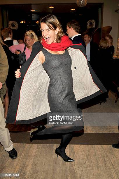Christina Floyd attends THROUGH THE LENS OF NATHANIEL KRAMER Exhibition Opening at GUY REGAL on October 29 2008 in New York City