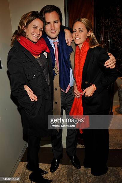 Christina Floyd Emmanuel Di Donna and Francesca Bodini attend THROUGH THE LENS OF NATHANIEL KRAMER Exhibition Opening at GUY REGAL on October 29 2008...